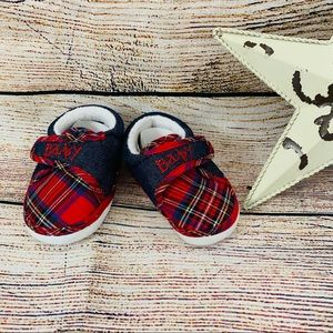 Infant Christmas Shoes size 1 Brand New 💕